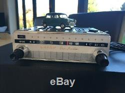 1960, s 70, s sharp atr-9103 vintage car radio, adapted to accept mp3 / ipod