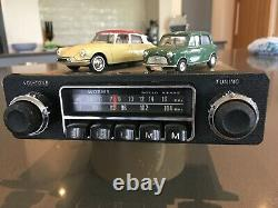 1970, s vintage car radio fully tested and working with mp3 / ipod input