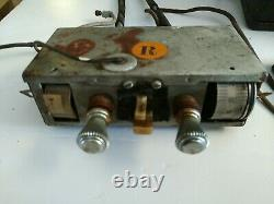 3 pc PACKARD MOTOR CAR COMPANY VINTAGE CAR RADIO PA351099 with speaker