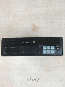 ALPINE 7289 L car stereo, head unit, pull out, 1987 classic, vintage