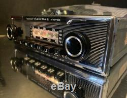 BECKER EUROPA II STEREO 772 Vintage Classic Car Radio BLUETOOTH MODERN INTERNALS