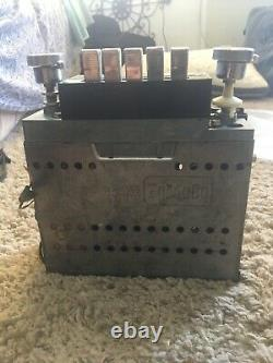 Car Radio 1960s Ford Mustang Original Factory WithO Case Works Vintage