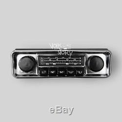 Car Radio Vintage Classic Vw Volkswagen Beetle Aux / Usb / Bluetooth