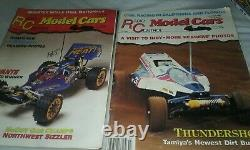 HUGE LOT 15 Radio Control Car Action RCCA Magazines Vintage 87-90 RARE YEARBOOK