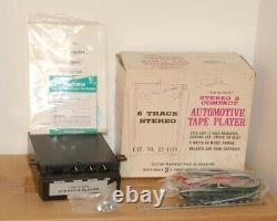 NOS Vintage Realistic 8-Track Stereo Player 12-1819 Car Auto Radio Shack