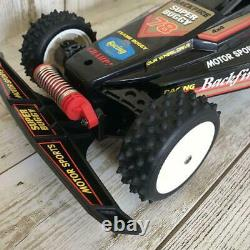 Nikko Radio Control Car Back Fire 4WD Buggy Off-Road Vintage From Japan Used