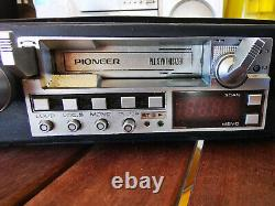 Pioneer KE-5300 Vintage Car Stereo radio cassette player withanti theft case