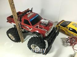 Radio Shack 60-4173 RC Monster Truck Rock Runner Car Crusher 2 Vintage with Box