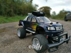 Radio controlled Ford F150 Nikko 1/6 Rc Car Off Road Vintage Toy
