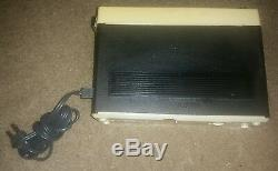 SHARP fx-27a AM/FM In Dash Car Stereo Portable Transistor Radio VINTAGE ANTIQUE