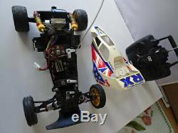 Tamiya FIGHTER BUGGY vintage rc car with working radio1/10 scale model car