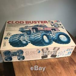 Tamiya clod Buster MK1 rare waiting offer! Radio control car kit VINTAGE 1/10