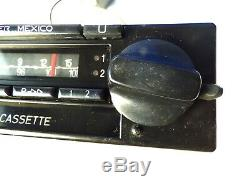 Vintage Car Radio Becker Mexico Type 374 Stereo Cassette