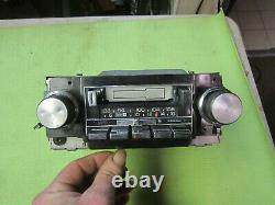 Vintage Car Radio DELCO GM AM/FM STEREO CASSETTE 1960-70's, tested working