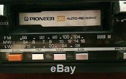 Vintage / Classic Pioneer KP-4230 Car Stereo Autoreverse Cassete Radio FM MW LW