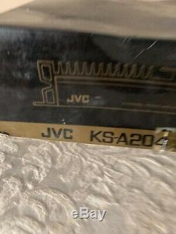 Vintage JVC 260W Stereo Power Amplifier KS-A204, 4 Channel Car Radio Amp, Japan