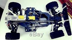 Vintage Kyosho 1/10 4WD Offroad Truck Chain Drive Radio Control RC Kit Race Car