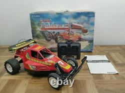 Vintage Radio Shack Red Arrow Buggy Radio Controlled Car Turbo 7 with Box 60-4077