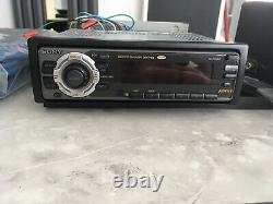 Vintage Sony Car Radio Cassette And Cd Changer