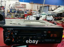 Vintage Sony XR-5250 AM/FM Stereo Cassette Player Car Radio PULL-OUT Tape Deck
