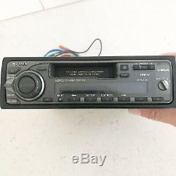 Vintage Sony XR-C5120 FM/AM Cassette Car Stereo Radio Untested