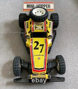Vintage TYCO MINI HOPPER RC RADIO CONTROL CAR ELECTRIC #27 WithRemote SEE VIDEO
