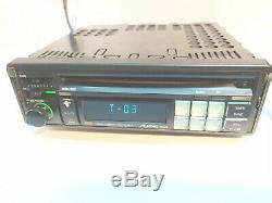 Vintage car Radio CD player Alpine 7903M made in Japan + AUX in Porshe Toyota