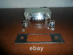 Vtg Rare Sealed Audiovox C-405 Solid State Am Car Radio Stereo Made In Japan